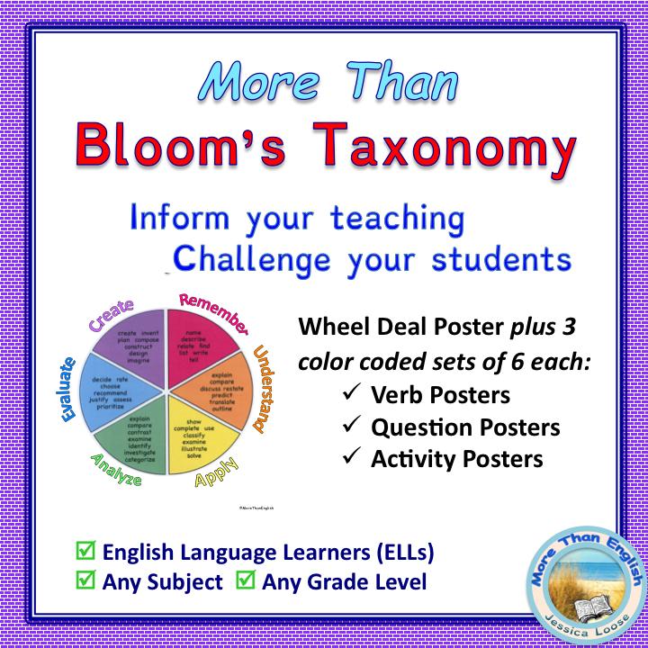 Bloom's Tools at TpT